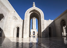 Mosque. Sultan Qaboos, Muscat, Oman Royalty Free Stock Photography