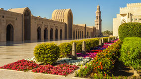 Mosque. Sultan Qaboos, Muscat, Oman Stock Photography