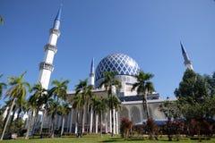 Mosque Sultan Salahuddin Abdul Aziz Shah Selangor Malaysia Royalty Free Stock Images