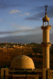 Mosque at sunset Royalty Free Stock Image