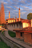 Mosque at the sunset Royalty Free Stock Photo