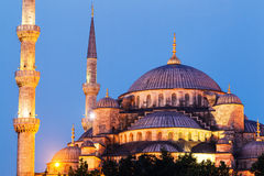 Mosque at Sunset Stock Photography