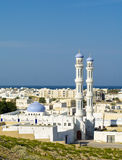 A mosque in Sur, Sultanate of Oman Stock Photo
