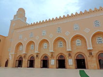 Mosque in Surat. People from the Dawoodi Bohra community residing in Surat, India visit the mosque for daily prayers as well as for religious sermons on various royalty free stock image
