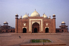 Mosque at Taj Mahal Royalty Free Stock Image