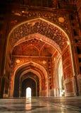 Mosque at the Taj Mahal. Agra, India Stock Image