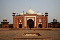 Mosque in the Taj mahal Complex, Agra, India. Royalty Free Stock Photography