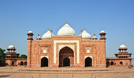 The Mosque in Taj Mahal, India Royalty Free Stock Images