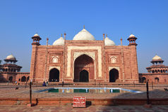 The Mosque in Taj Mahal, India Stock Photography