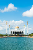 Mosque in Thailand. Mosque with the pond in foreground Stock Photography
