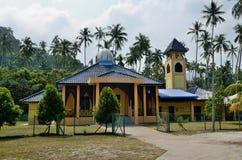 Mosque on the Tioman island Royalty Free Stock Photo
