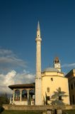 Mosque, Tirana, Albania. One of the few mosques have survived the communist dictatorship in Albania is the Ethem Bey Mosque in Tirana royalty free stock photos