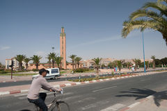 Mosque of Tiznit city, Morocco Royalty Free Stock Image