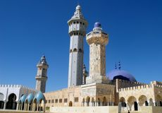 Mosque to Koba. Royalty Free Stock Photography