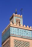 Mosque Tower. Morocco 2004 Royalty Free Stock Image