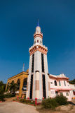 Mosque Tower in the sunshine day Stock Photography