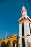 Mosque Tower in the sunshine day Royalty Free Stock Image