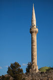 Mosque tower at Yumurtalik Stock Image