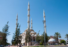 Mosque in the town of Manavgat. Turkey. Stock Image