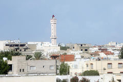 Mosque in Tunis. One of the many mosques, across the city Tunis in Tunisia Royalty Free Stock Photography