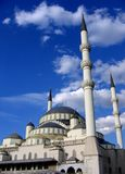 Mosque in Turkey. Mosque in the middle of Ankara-Turkey royalty free stock photo
