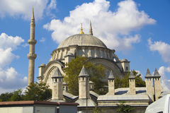 Mosque in turkey Stock Photo