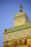 Mosque Turret, Morocco Stock Photos