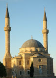 Mosque with two minarets. In Baku, Azerbaijan Stock Images