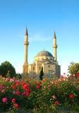 Mosque with two minarets. In Baku, Azerbaijan Royalty Free Stock Photos