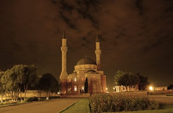 Mosque with two minarets in Ba Stock Images