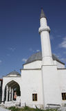 Mosque with two minarets Royalty Free Stock Photography