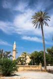 Mosque of Umm Haram, Larnaca. Cyprus Royalty Free Stock Photo