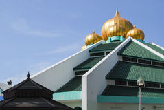 Mosque. USM Mosque on the Pulau Pinang, Malaysia Royalty Free Stock Images