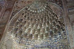 Mosque in Uzbekistan Royalty Free Stock Images