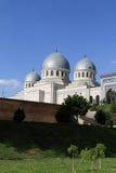 Mosque in Uzbekistan. The mosque in Tashkent in spring, Uzbekistan Royalty Free Stock Photos