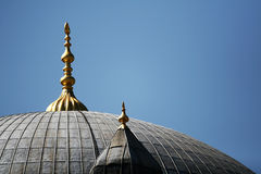 Mosque vaults Stock Photography