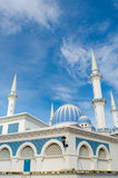 Mosque in vertical perspective Stock Image