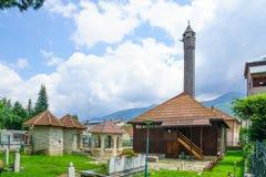 Mosque of Vezir, Gusinje Stock Images