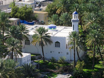 The mosque in village Bilad Sayt Stock Photography