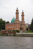 The Mosque in Vladikavkaz Stock Image