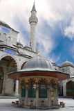 Mosque washing pavilion. Washing Pavilion of the Blue mosque in Istanbul Turkey Stock Photography
