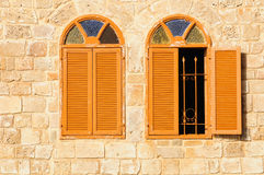 Mosque windows. Royalty Free Stock Photos