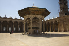 Mosque yard stock photography