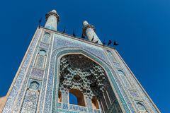 Mosque in Yazd Royalty Free Stock Photography