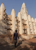 Mosquee of Bobo-Dioulasso Stock Images