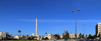 Mosques architecture in Amman, Jordan,  Middle East Royalty Free Stock Photography