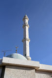 Mosques architecture in Amman, Jordan,  Middle East Royalty Free Stock Images
