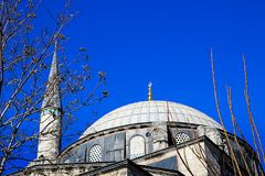 Mosques and Blue Sky. From Turkey Travel Stock Photography