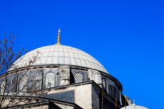 Mosques and Blue Sky. From Turkey Travel Stock Photos