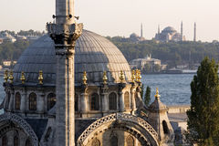 Mosques of the Istanbul Royalty Free Stock Images